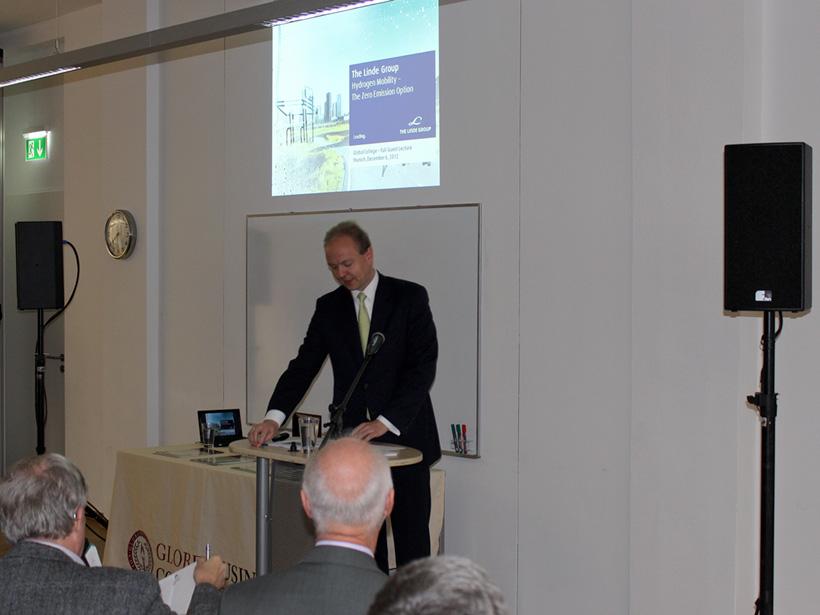 Guest Lecture: Dr. Thorben Finken of the Linde Group