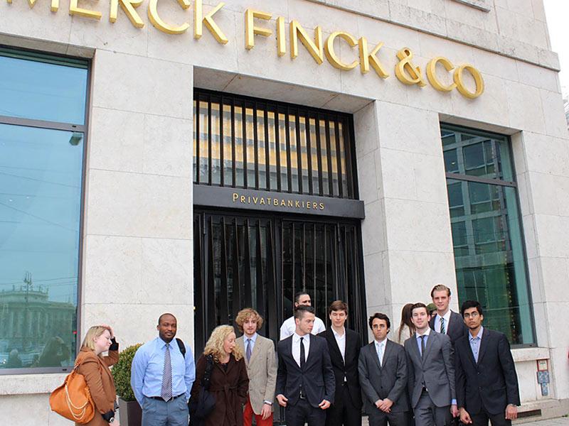 Merck Fink & Co Industrial Visit