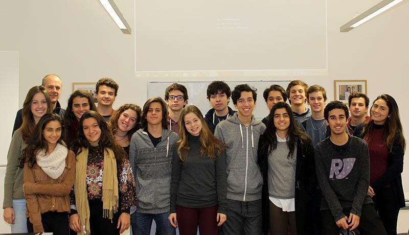 Deutsche Schule Rio de Janeiro students at Globe Business College Munich