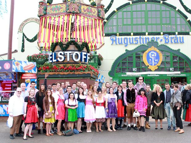 Globe College Visits Oktoberfest 2014