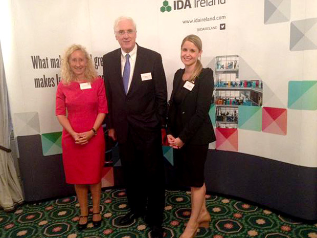 Globe College faculty attend 'Engineering in Ireland' event