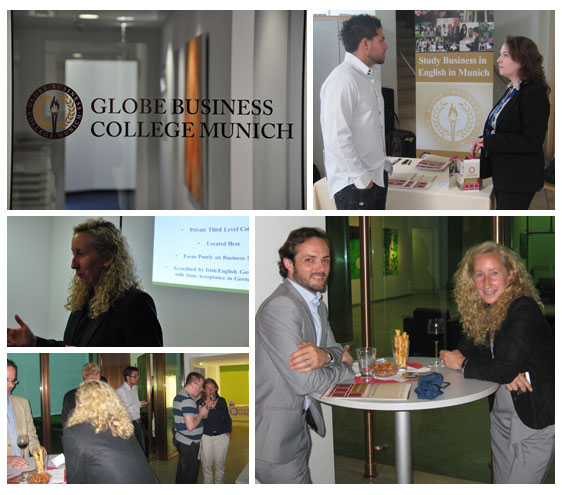 Networking Event at Globe Business College Munich, July 2011