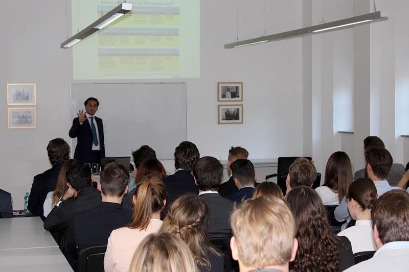 Guest Lecture Mr Juan Manuel Dapcich