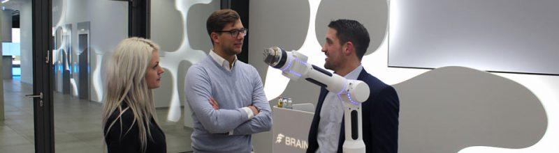 Globe students visit Brainlab AG, Munich